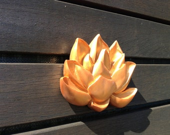Waterlily wall/fence hanging decoration