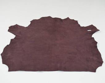 Burgundy Velvet Lambskin Coupon