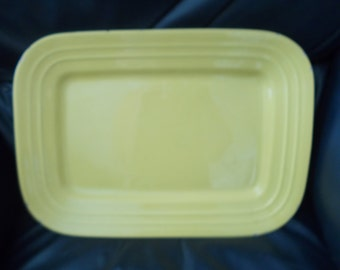 Pacific Pottery 617 Yellow Tray