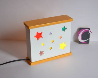 "Handcrafted Nightlight ""night sky"""