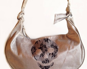 Kit, tutorial, DIY, fusible lace to customize your bag for the holidays.