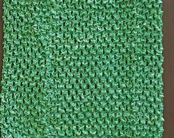 STRAPLESS stretch 2-6 green crochet for creating girl tutu dress