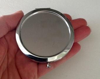Blank Compact Mirror - Seconds - DIY