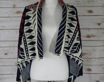 Basic open front long sleeve cardigan sweater