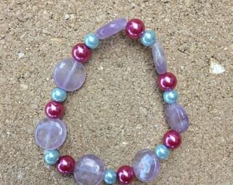 Ametrine | Ametrine Bracelet | Ametrine Jewelry | Stretch Bracelet | Healing | Healing Jewelry | Healing Bracelet | Gemstone | Gemstones