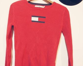 Vintage Tommy Hilfiger shirt-90's