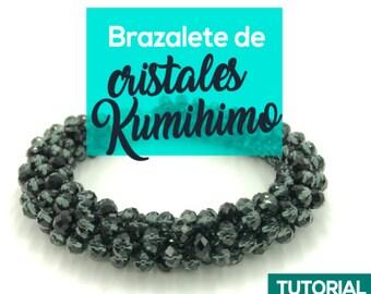 DIY Brazalete de Cristales Kumihimo Ebook PDF con Video Tutorial