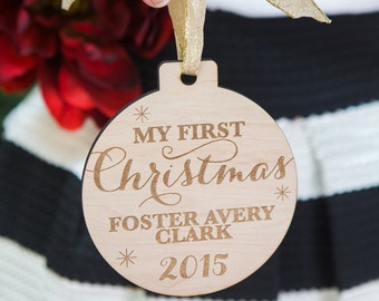 Ornament for Baby First Christmas New Baby Christmas Gift Ornament for Baby Gift for Holidays (Item - FXB100)
