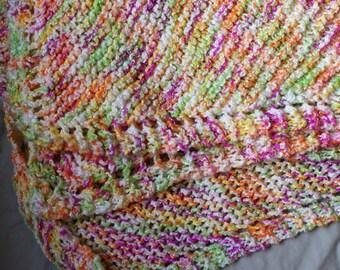 Girl baby blanket