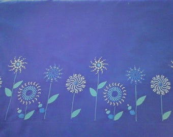 Embroidered Boarder Fabric