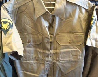 U.S. Army Vietnam-Era Uniform Shirt (Specialist 5)
