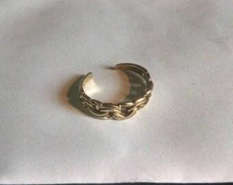 Gold Toe Ring 10k