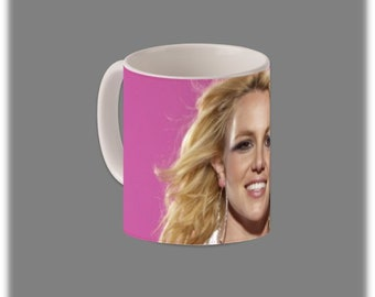 Britney Spears Coffee Cup #1123
