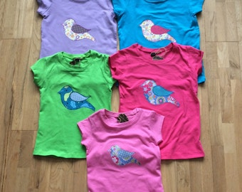 Little Bird Applique t shirt