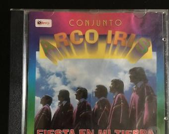 Fiesta en mi Tierra Conjunto Arco Iris Andean Flute Music CD