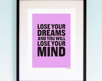 Rolling Stones - Ruby Tuesday, Song Lyrics, Music Print, Music Lyric Gift, Music Typography, Printed Lyrics, Lyric Poster Design, A4, A3.