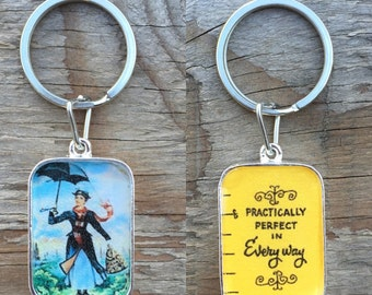 Reversible Mary Poppins Keychain