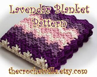 Lavender Baby Blanket Pattern