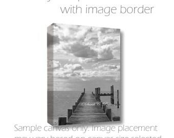 B&W Art-Ocean Photography-Canvas Art-Coastal Art-Beach Wall Art-Fine Art Photography-Nautical Wall Decor-8x10/11x14/16x20/20x30/24x36/30x40