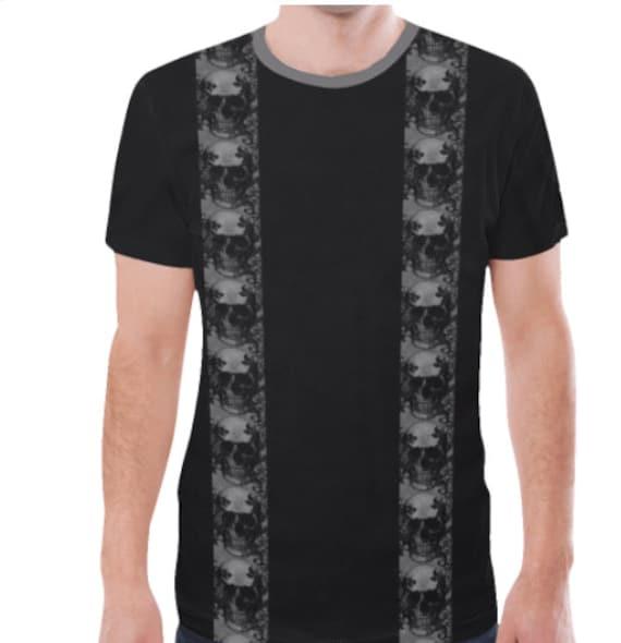 Skull Stripe Tee shirt