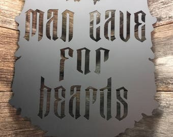 Man Cave for Beards Sign