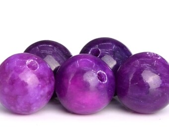65 / 32 Pcs - 6MM Sugilite Beads Grade AAA Natural Round Gemstone Loose Beads (104757)