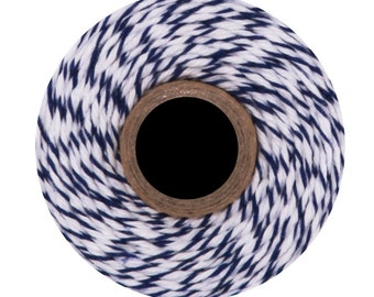 Blueberry Divine Twine (240 yards) Blue and White