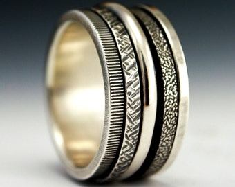 Sterling Spinner Ring