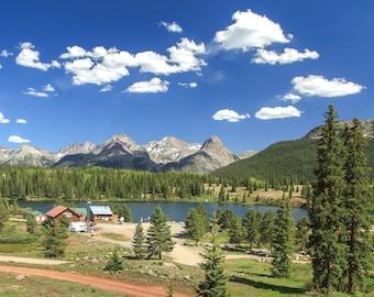 Colorado Landscape Photography, San Juan Mountains, Molas Lake, Rocky Mountains, Fine Art Print, US Route 550, Million Dollar Highway