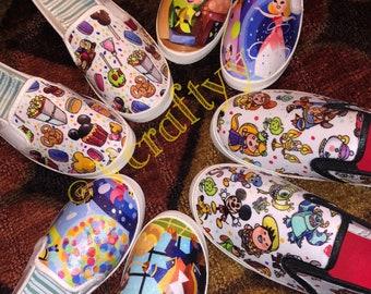 Disney Themed Custom Women Shoes