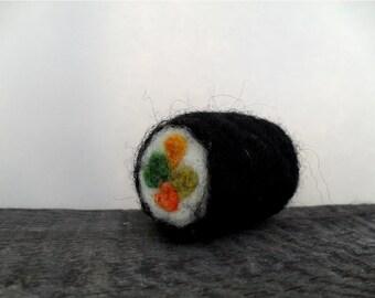Cat toy catnip sushi, needle felted