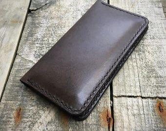 Personalised Kangaroo Leather iPhone SE Wallet, Suits iPhone SE 5S 5, iPhone 5S Wallet, iPhone 5 Wallet