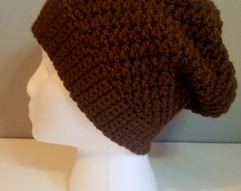 CHOOSE YOUR COLOR, Slouchy Beanie, Slouchy Hat, Crochet Hat, Crochet Beanie, Crochet Slouchy Hat, Womens Hat, Winter Hat, Customized Hat