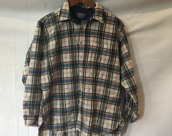 Vintage Pendleton Wool Plaid Shirt