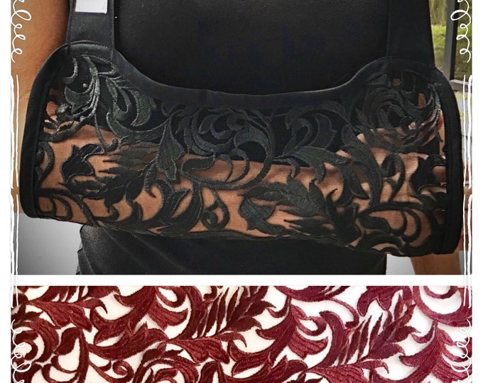 Elegant Cut Out Lace Arm Sling - Child arm sling - Adult arm sling