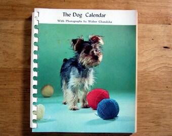 1959 Walter Chandoha Dog Photo Datebook in box