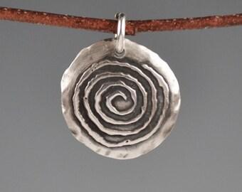 Spiral totem-petroglyph-talisman-amulet-charm