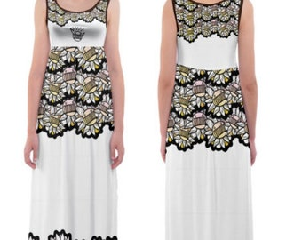 Ween push the lil daisies maxi dress