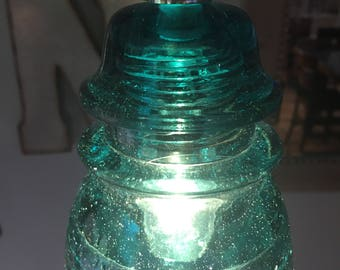 Pre-Drilled Antique Glass Insulators