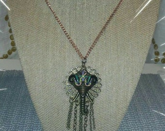 Elephant Love Necklace