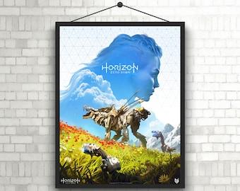 Horizon Zero Dawn Video game poster