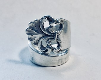 Perforated Spiral Ring