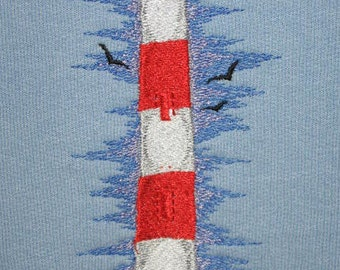 Lighthouse fleece sweatshirt