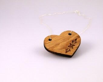 Hiraeth Collection - 'Blodeuo' Oak Pendant