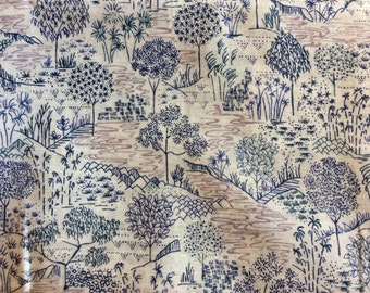 Tana lawn fabric from Liberty of London, Sabrina