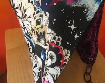Reversible repurposed tapestry hood