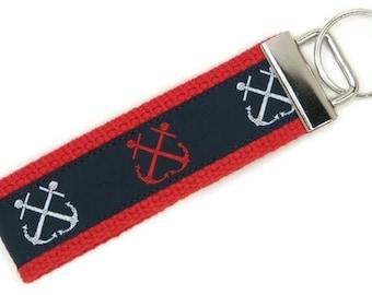 Anchors Aweigh Key Fob