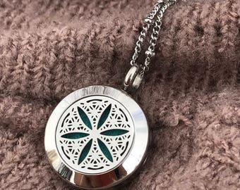 Beautiful ~ Essential Oil Diffuser Locket Necklace