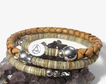 Men's or women's recovery bracelet,men's AA sobriety bracelet,recovery 12 step bracelet,alcoholics anonymous, men's AA bracelet,sponsor gift