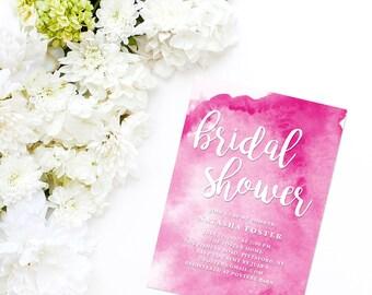 Bridal Shower Invitation, Printable Bridal Shower Invitation, Digital Bridal Shower Invite